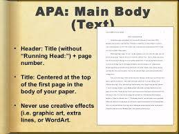 Help with apa research paper
