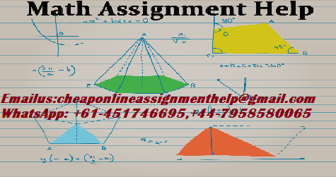Math Assignment Writing Help