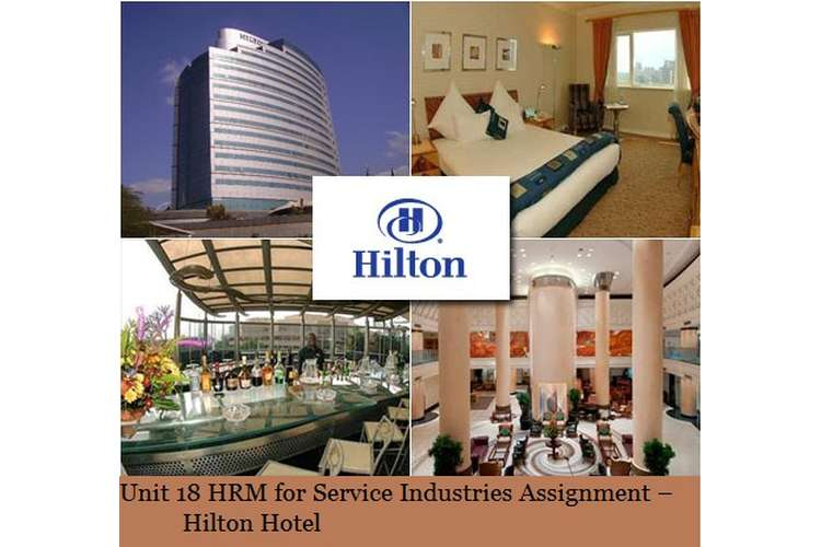 Unit 18 HRM Service Industry Assignment