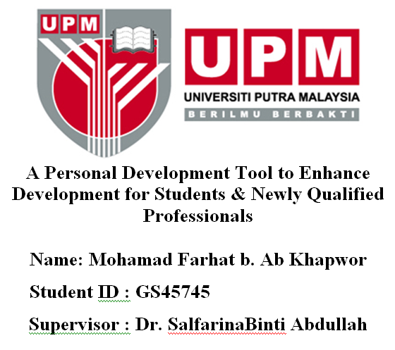 A Personal Development Tool To Enhance Development For Students